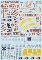 Print Scale Decals 1/48 Grumman EA-6 Prowler Part 2 # 48196
